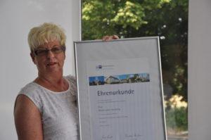 Ehrenurkunde Arbeitsjubiläum Marie-Luise Herzberg - jdYAn6EL06pK 300x199