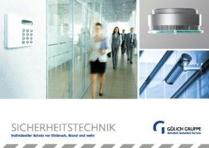 Broschüre Sicherheitstechnik - sicherheitstechnik pdf 1 300x212