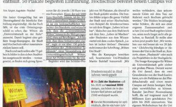 Sponsoring Kampagne zu Universitätsstadt Witten