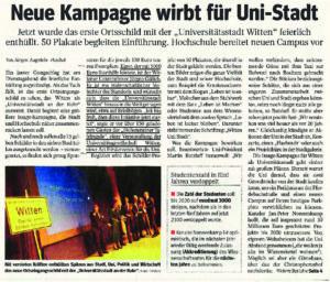 Sponsoring Kampagne zu Universitätsstadt Witten - waz unistadtwitten pdf 300x256