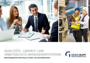 Broschüre Qualitätsmanagement und Arbeitsschutz - qualitaetsmanagement pdf 300x212