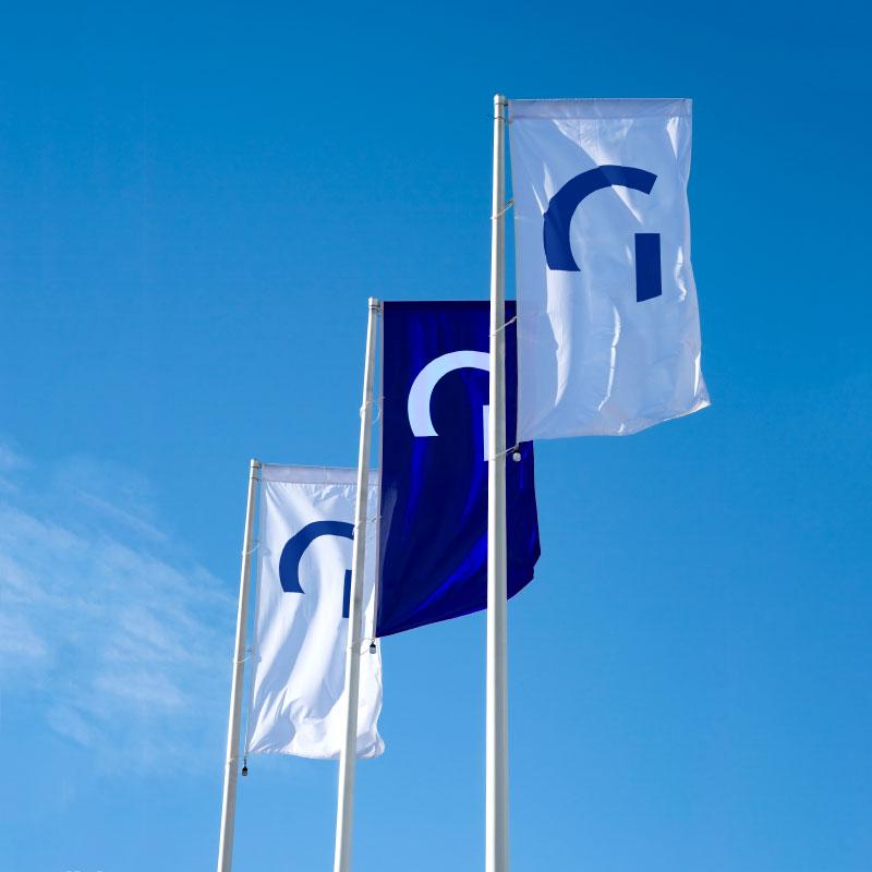 Standorte - standorte flagge