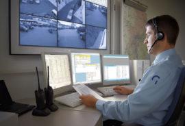 Aufschaltung Notruf-Zentrale