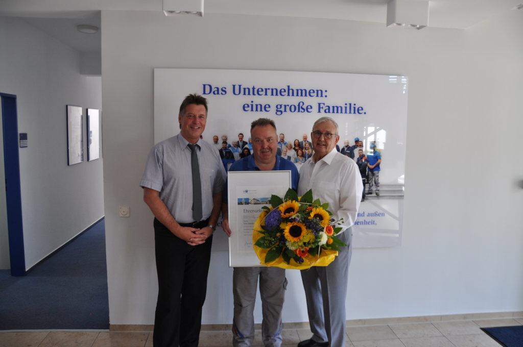 30-jähriges Dienstjubiläum von Peter Jastrzemsky bei der GÜLICH GRUPPE - DSC 0123 1024x680